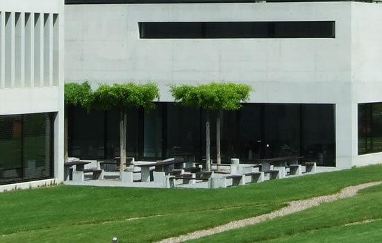 会社工場緑化